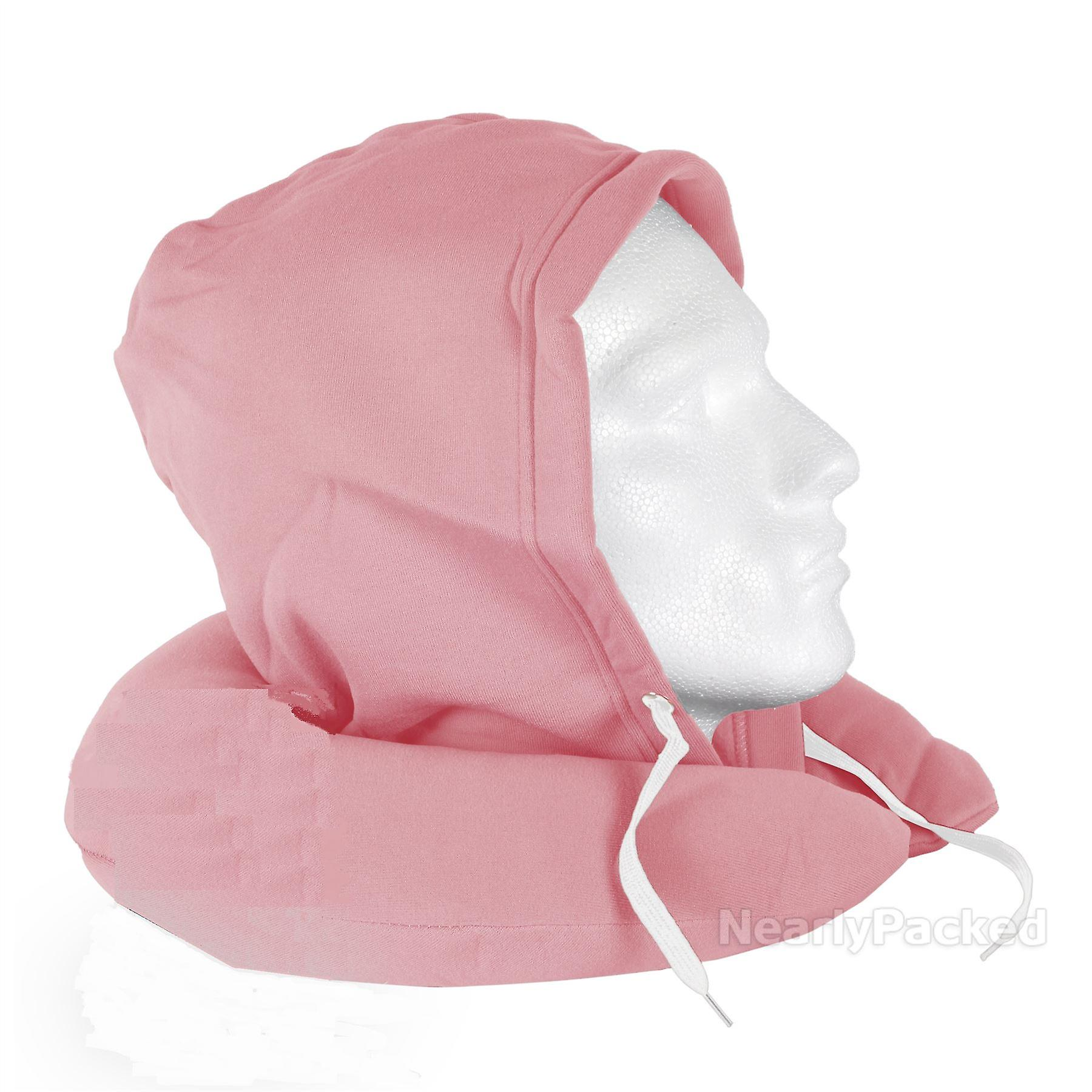 Hooded Supersofttravel Pillow (pink)