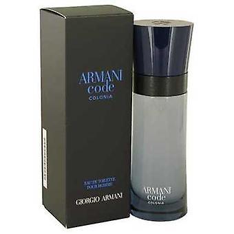 Armani Code Colonia By Giorgio Armani Eau De Toilette Spray 2.5 Oz (men) V728-539370