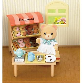 Sylvanian Families donut winkel Set