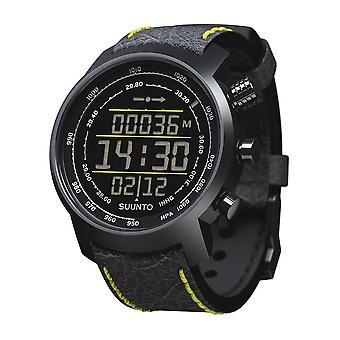 Suunto Premium Uhren Elementum Terra Black/Yellow Leather SS019997000