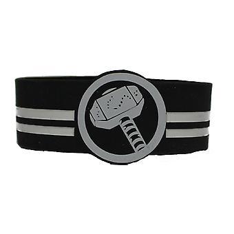 Wristband - Marvel - Thor Hammer PVC Bracelet rwb-mvl-0011