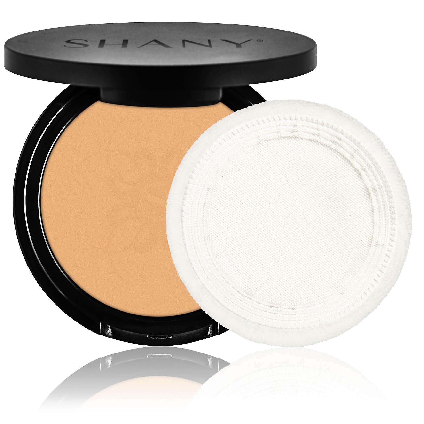 SHANY Two Way Foundation, Oil - Free, Talc Free, Wet/Dry