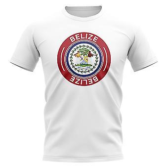 Belize Football Badge T-paita (valkoinen)