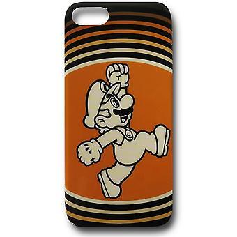 Nintendo Mario Orange iPhone 5 case