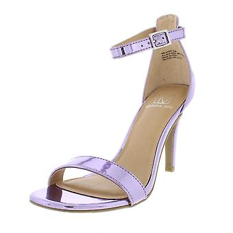 Material Girl Womens Blaire6 Open Toe Formal Ankle Strap Sandals