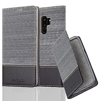 Case for Samsung Galaxy S9 PLUS Foldable Phone Case - Cover - with Stand Function and Card Tray