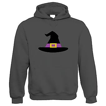 Witch Hat Hoodie | Halloween Fancy Dress Costume Trick Or Treat | Hallows Eve Ghost Pumpkin Witch Trick Treat Spooky | Halloween Gift Him Her Birthday