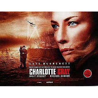 Charlotte Gray (kaksipuolinen) alkuperäinen elokuva juliste