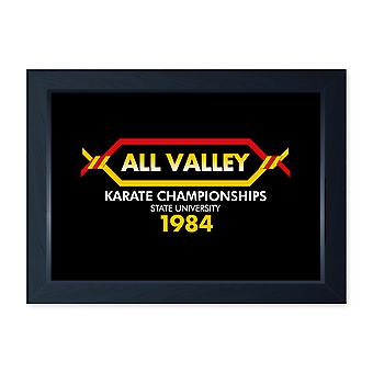 All Valley Karate Kid Movie Inspired, Boys Room Framed Print Poster Wall Art