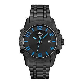 Harley Davidson 78B132 Men's Strap Wristwatch