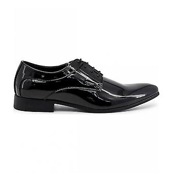 Duca di Morrone - Chaussures - Chaussures lacets - GEORGE-BLACK - Hommes - Schwartz - 45
