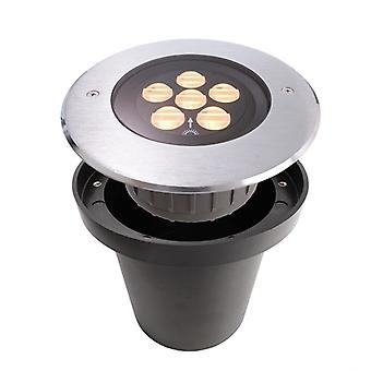 Lampa podłogowa LED hp IV 3000K x 173mm srebrny IP67 ściemniania