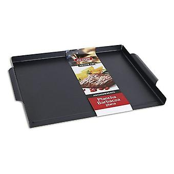 Algon barbecue smooth grilling plate (36 x 29 cm)