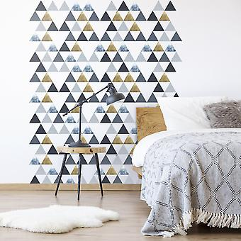 Andvika small triangle wall decals