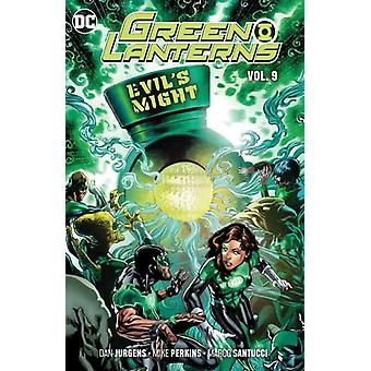 Green Lanterns Volume 9 by Dan Jurgens