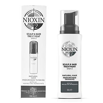 Système de traitement capillaire protecteur 2 Nioxin Spf 15 (100 ml)