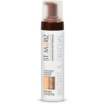 St. Moriz Advanced Pro Mousse for Instant Tanning and gradual 200 ml