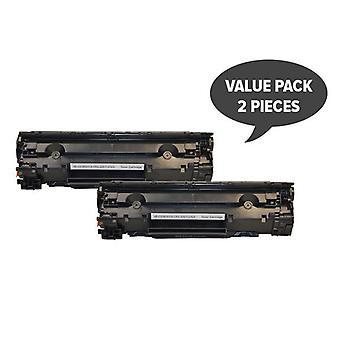 CE285A 85A Cart325 Black Generic Toner  (Set of 2)