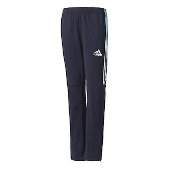 Adidas Boys 3-stripes Football Tiro Pants White Stripe