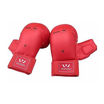 Morgan Wkf Approved Karate Mitts With Thumb Protection