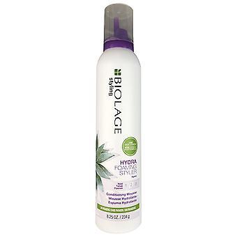 Hidra de biolage matricia do styler de espuma segura 2 rato de cabelo com agave 8,25 oz sem parabenos