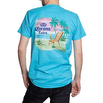 Corona Beach Sunset Blue T-Shirt