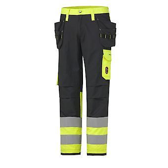 Helly hansen aberdeen flame retardant construction hi vis class 1 pant 76480