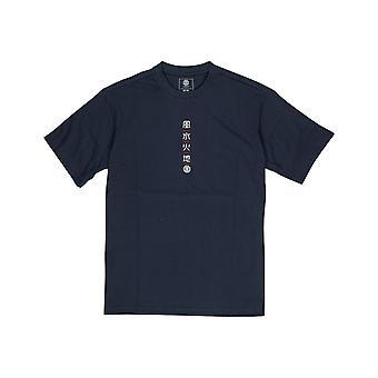 Camiseta de manga curta do Elemento Yuki em Índigo