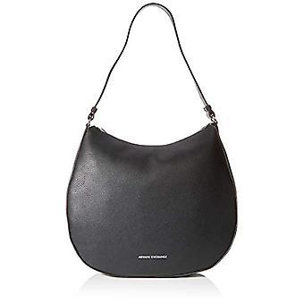 ARMANI EXCHANGE Hobo Bag - Black Women's Shoulder Bags (Black) 10x10x10 cm (W x H L)