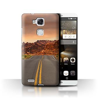 STUFF4 Case/Cover for Huawei Ascend Mate7/Road/Highway/State of Nevada