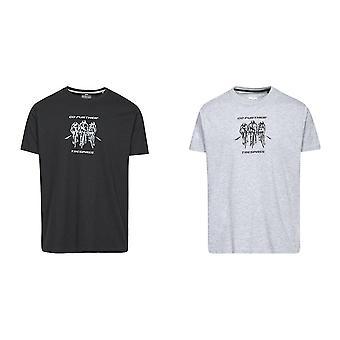 Hausfriedensbruch Mens angekettet Kurzarm T-shirt