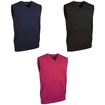 Glenmuir Thornton - 100% Cotton V Neck Slipover Sweatshirt
