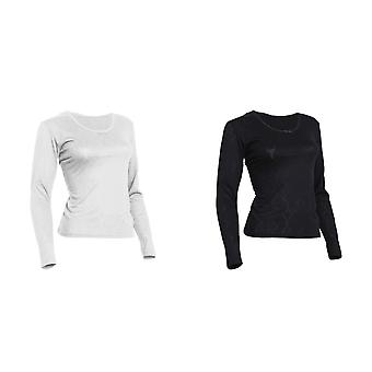 FLOSO Ladies/Womens Thermal Underwear Long Sleeve T-Shirt (Viscose Premium Range)