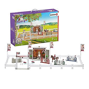 Schleich Horse Club Big Horse Show with Horses Playset