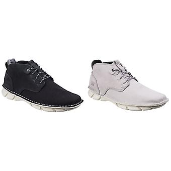 Caterpillar Mens Almanac Canvas Lace Up Leather Boot