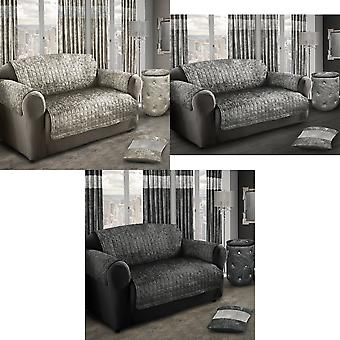 Intimates Crushed Velvet Chair/Settee Protector