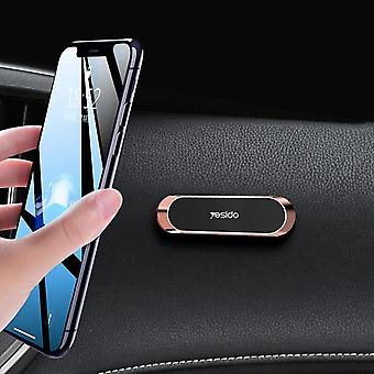 Yesido mini magnetic dashboard car phone holder car mount 4.0-6.5 inch smart phone for iphone 11 for samsung galaxy note 10 xiaomi redmi note 8 pro
