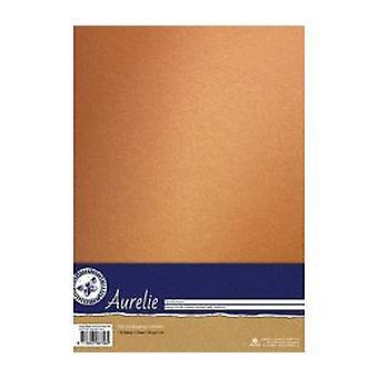 Aurelie Vintage Metallic Cardstock Nostalgic Gold (AUSP1026)