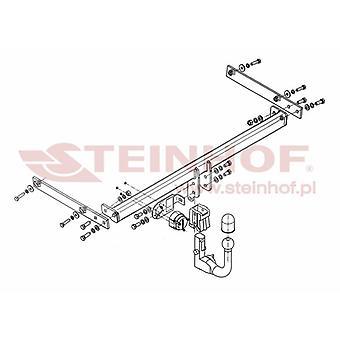 Automatyczny odłączany pasek holowniczy Steinhof (pionowy) dla Forda FIESTA mk6 2008-2016