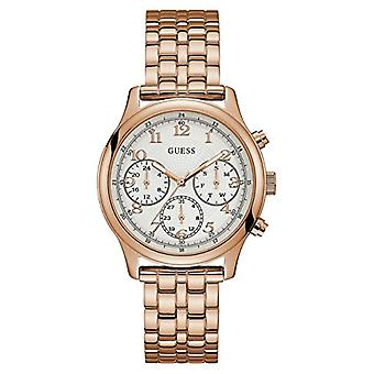 Guess men's Multi-dial quartz Woman with stainless steel strap W1018L3