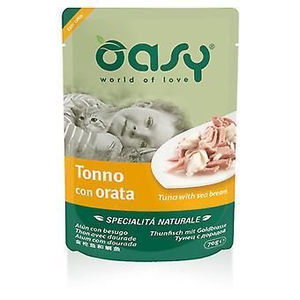 Oasy Jelly Pouch Tuna with Dorada (Cats , Cat Food , Wet Food)