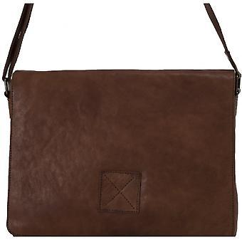 Ashwood Pedro cinco bolso carregam todo couro Messenger Bag