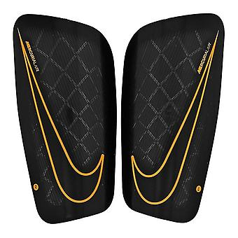 Football Shinguards Nike Merc LT GRD Black/L