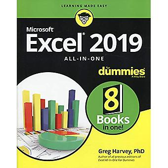 Excel 2019 All-in-One For Dummies by Greg Harvey - 9781119517948 Book