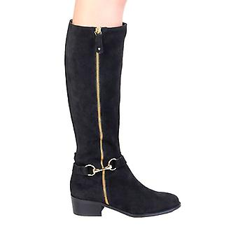 Pierre Cardin Women Black Boots -- 4105832624