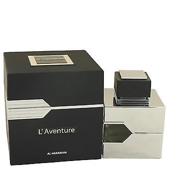 L'Aventure Eau De Parfum Spray przez Al-Haramain 3,3 uncji Eau De Parfum Spray