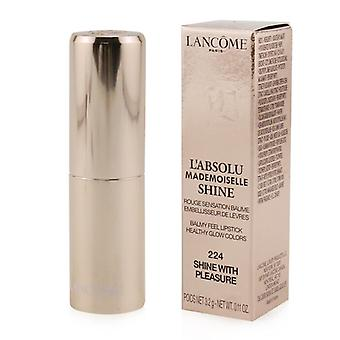 Lancome L'absolu Mademoiselle Shine Balmy Feel Lipstick - # 224 Shine With Pleasure - 3.2g/0.11oz
