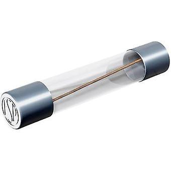 Püschel FSUT2,0B Mikrosäkring (Ø x L) 6,3 mm x 32 mm 2 A 250 V Tidsfördröjning -T- Innehåll 10 st