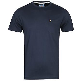 Farah Sunset True Navy T-Shirt