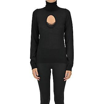 N°21 Ezgl068196 Women's Black Wool Sweater